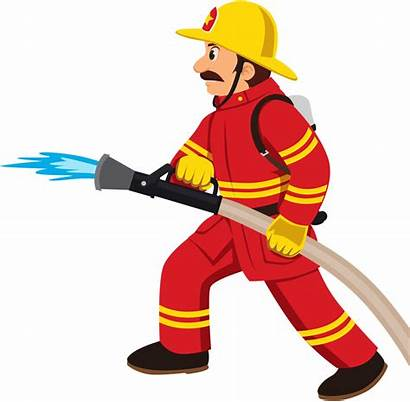 Clipart Transparent Fire Firefighter Fighter Engine Fighting
