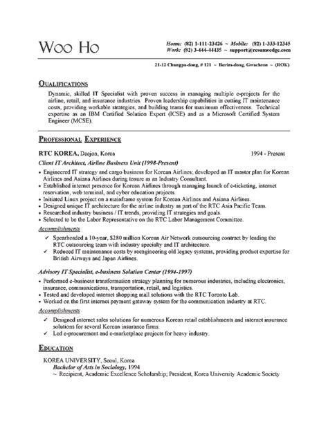 Information Technology Support Specialist Resume by It Specialist Resume