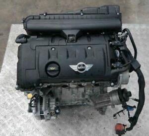 Motor Minti by Bmw Mini Cooper R56 R55 R57 120hp Complete Engine Petrol