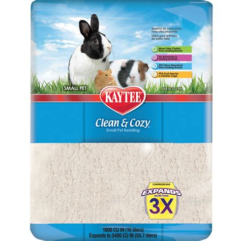 kaytee clean and cozy bedding kaytee clean cozy pet bedding 16 l that pet place