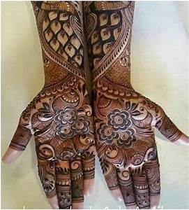Classy Collection of Bridal Mehndi Designs for full hands ...