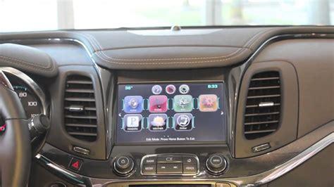 arrange  app icons   chevy mylink radio