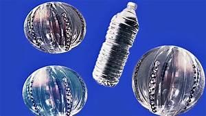 Deco De Noel Avec Bouteille En Plastique : diy fabriquer une boule de no l avec une bouteille en plastique youtube ~ Dallasstarsshop.com Idées de Décoration