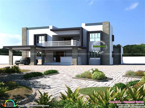 4500 square 8 bhk flat roof home