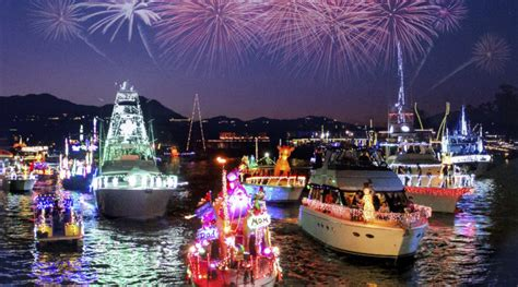 Newport Beach Annual Boat Parade by Newport Beach Christmas Boat Parade Will Celebrate Its