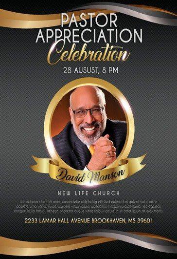 theme  pastor appreciation celebration flyer