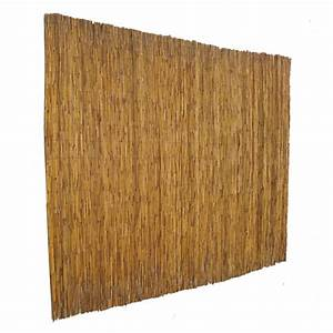 Shop Garden Zone 72-in x 15-ft Natural Reed Outdoor