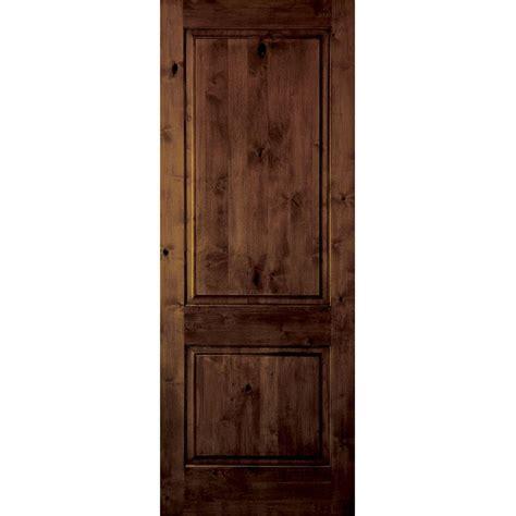 home depot 2 panel interior doors krosswood doors 18 in x 80 in rustic knotty alder 2