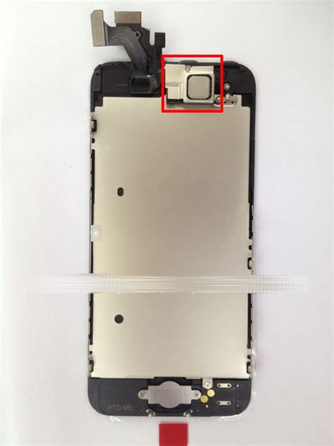 iphone nfc leaked iphone 5 front assembly reveals nfc chip