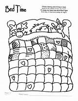 Coloring Quilt Bed Night Bedtime Sheet Sheets Animal Printable Cartoon Quilting Drawing Colouring Pattern Worksheets Giraffe Bedroom Blender Getcolorings Clip sketch template
