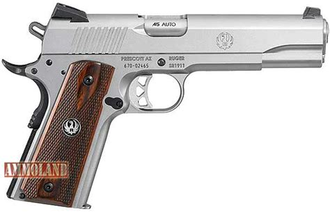 Ruger Sr1911 Pistol All Americanmade