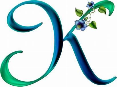 Clip Letter Aqua Alphabet Transparent Clipart Gifs