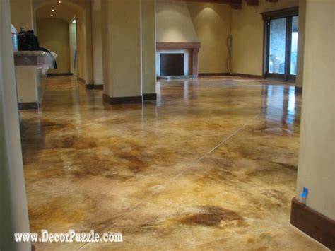 Types Of Floor Covering Concrete by 25 Best Ideas About Painted Concrete Floors On