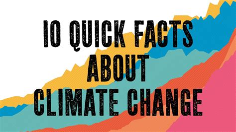 10 Quick Facts About Climate Change - YouTube