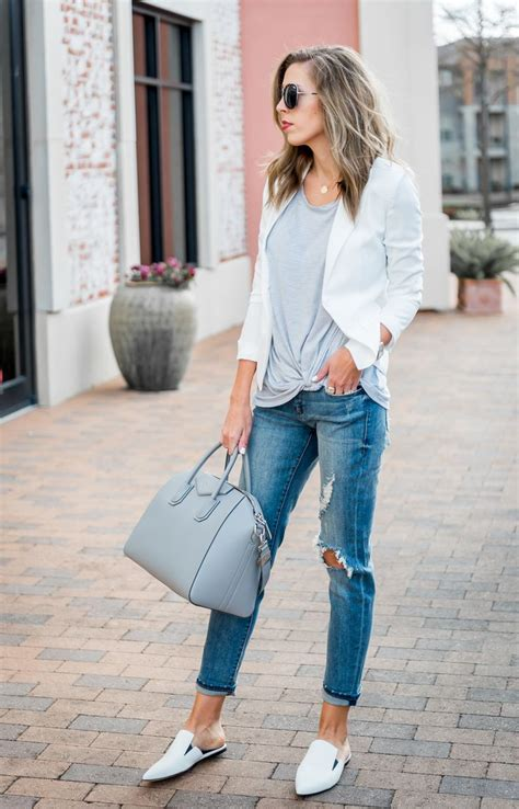 Best 25+ Fancy casual outfits ideas on Pinterest   Womens blazer and jeans Classy jeans outfit ...