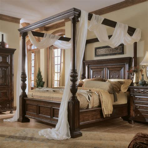 canap beddinge bedroom exiterra canopy bed bed canopies canopy