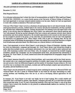 Sample Letter Of Recommendation For Graduate School Main Kinds Of Medical School Recommendation Letter And