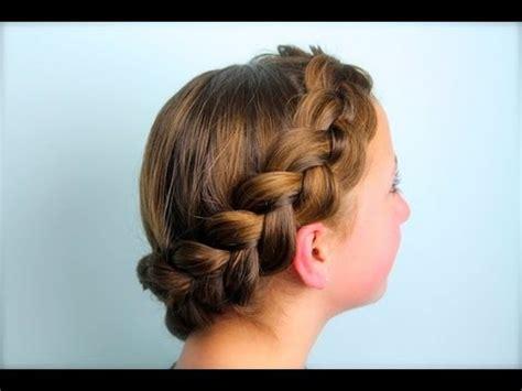 wrap  dutch pancake braid cute girls hairstyles