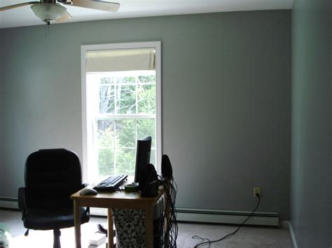 maine home revisiting the office paint color