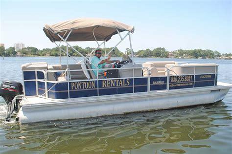Panama City Boat Rentals by Pontoon Boat Rentals In Panama City