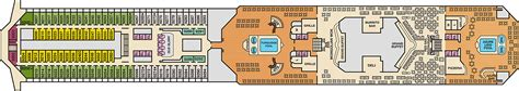 Carnival Deck Plans Travelocity by Carnival Deck Plan