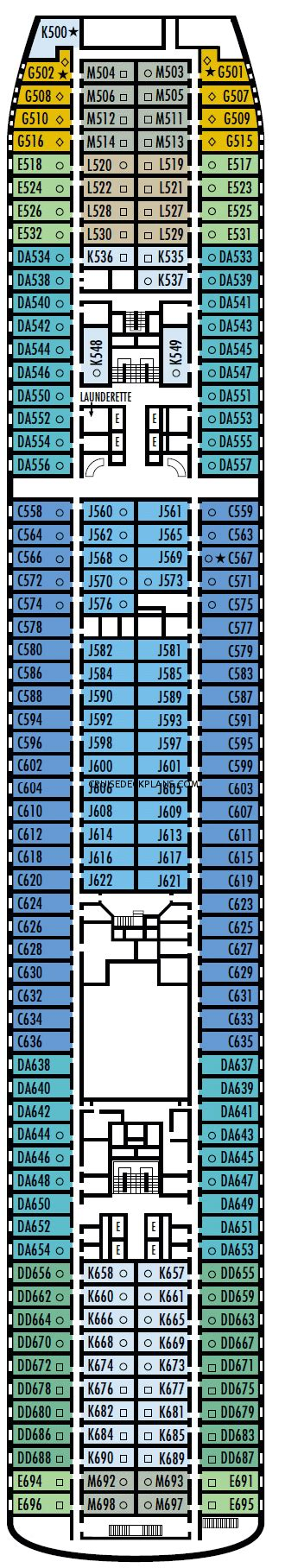 Veendam Ship Deck Plans by Veendam Interior Stateroom Cabin Pictures