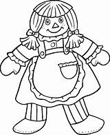 Coloring Pages Doll Baby Printable Dolls Colouring Rag Troll Ragdoll Coloringhome Carousel Popular Printablecoloringpages sketch template