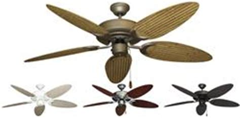 Wicker Ceiling Fans Canada by 52 Inch Raindance Outdoor Ceiling Fan With Bamboo Palm Blades