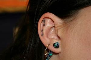 Ear Tattoos And Designs