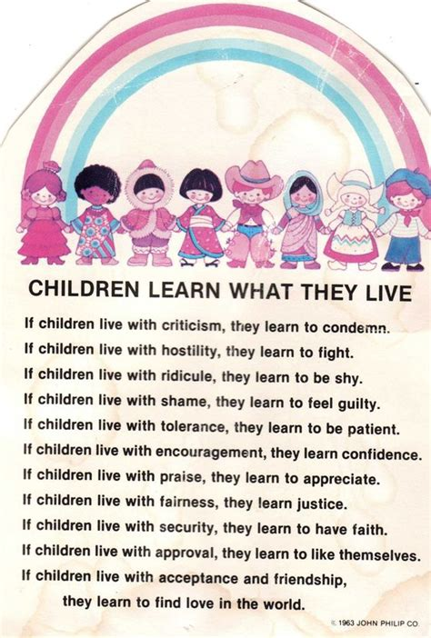 children learn what they live quotes and sayings 772 | 05ff4259c2725088a5a59557d21a128f