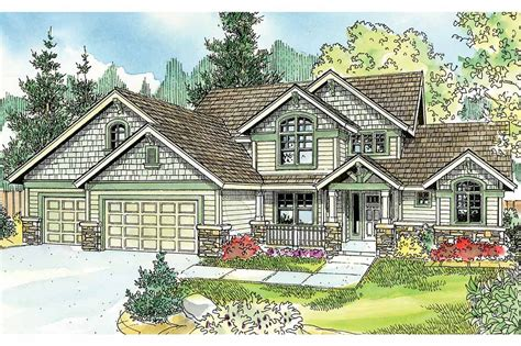 Cottage House Plans  Briarwood 30690  Associated Designs