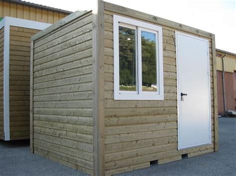 construction modulaire en bois bungalow 224 ossature bois