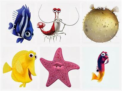 Nemo Finding Clip Gill Clipart Dory Tank