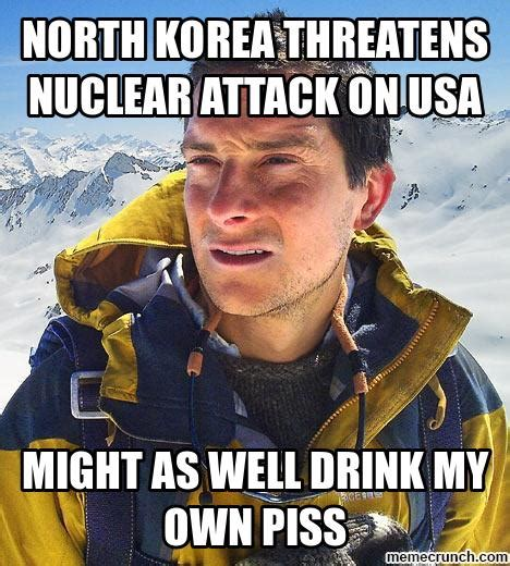North Korea Meme - north korea threatens nuclear attack on usa