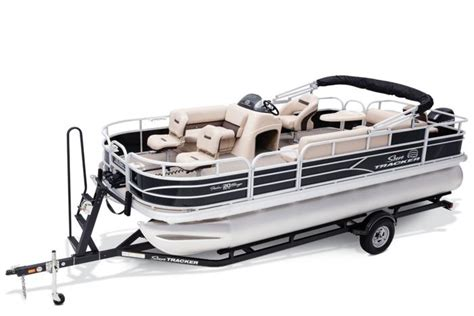 Tracker Pontoon Boats by Sun Tracker Boats Fishing Pontoons 2017 Fishin Barge
