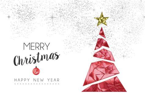 christmas tree decoration contemporary christmas cards