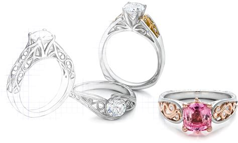 design your own jewelry custom jewelry engagement rings bellevue seattle joseph