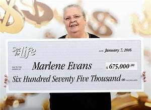 Maple Ridge woman wins lottery with ticket bought as a ...
