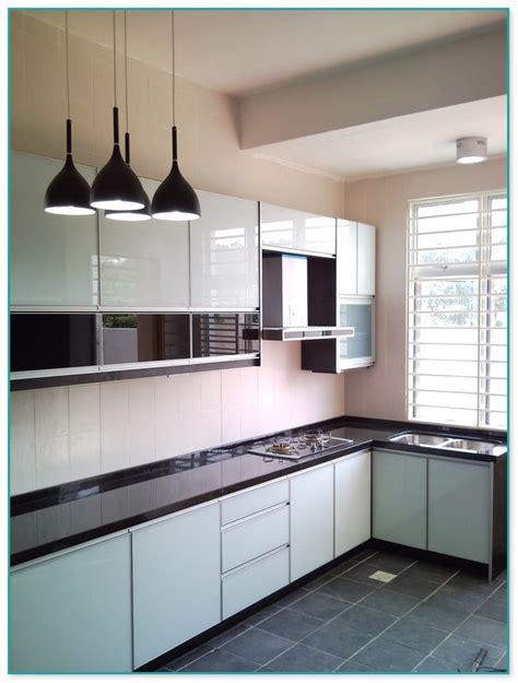 aluminium kitchen cabinet design in malaysia home