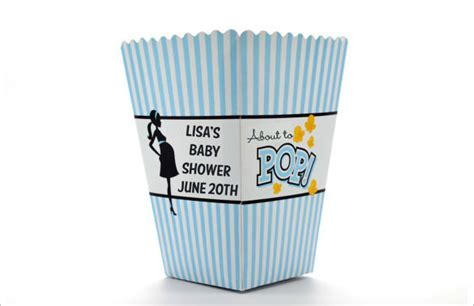 Popcorn Container Template by 15 Best Popcorn Box Templates Free Premium Templates