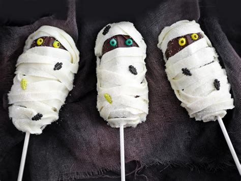 easy mummy cake pops hgtv