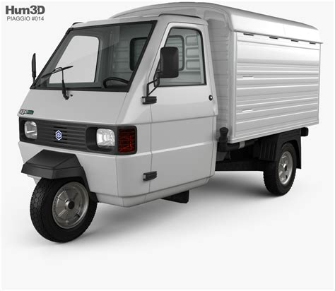 piaggio ape tm piaggio ape tm panel 2016 3d model vehicles on hum3d
