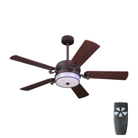 home depot ceiling fans with remote home decorators collection 52 in indoor bronze organza