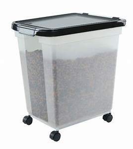 galleon iris airtight pet food container 50 pound With dog food container 50 lbs