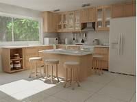 lovely master kitchen plan Lovely Simple Kitchen Plan - Home Design #1086