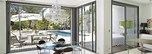 Baie à Galandage : achat d 39 une baie vitr e grandes dimensions galandage ~ Melissatoandfro.com Idées de Décoration