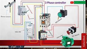 How To Connect The 3 Phase Controller  Or Failure Relay To