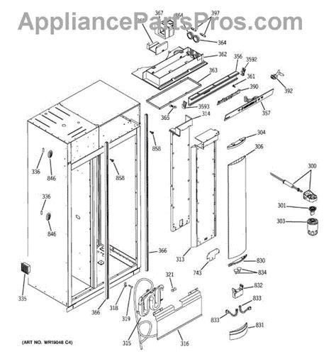 parts  ge zisbdra fresh food section parts appliancepartsproscom