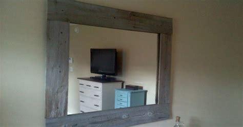 Barnwood Mirror Makeover
