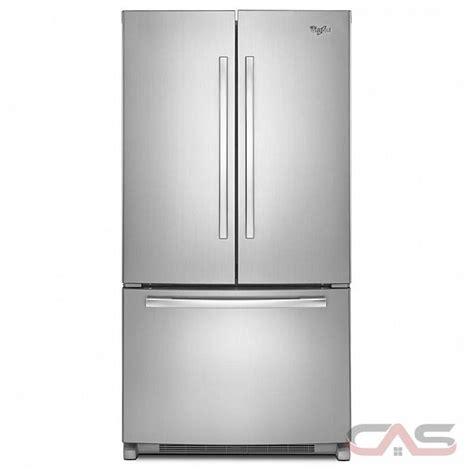 whirlpool wrfcwbw french door refrigerator  width freezer located ice dispenser energy